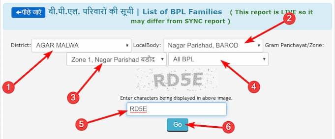 MP Ration Card List BPL / AAY Kaise Check Kare